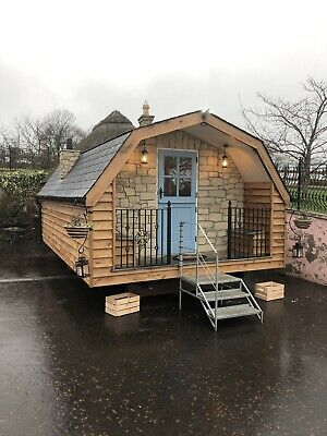 Glamping Pod Sheperds Living Pod Accomadition