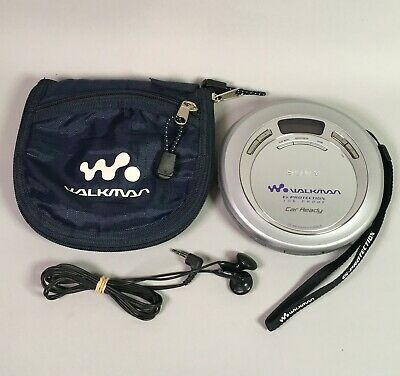 Sony CD walkman G Protection Jog proof with case D-EJ626CK Car Ready