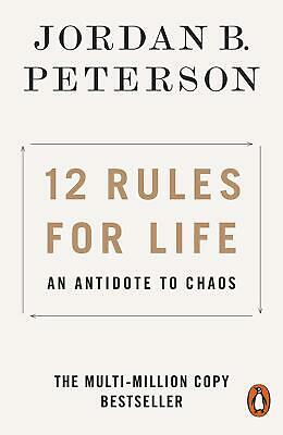 12 Rules For Life An Antidote To Chaos By Jordan B. Peterson Book Paperback