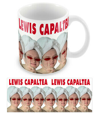 Lewis Capaldi Mug CAPALTEA Funny Novelty ceramic 10oz Printed Cup Top Quality