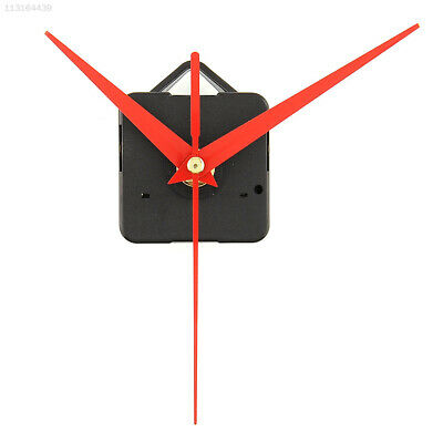 9D5E Useful Clock Movement Mechanism Parts Replacing Tools Set with Red Hands
