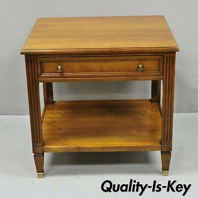 Kindel Belvedere 2332-46 French Regency One Drawer Cherry Lamp Side End Table