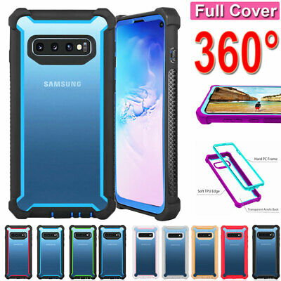 For Samsung Galaxy S10 S9 S8Plus/Note 9 8 Shockproof Heavy Duty Armor Case Cover