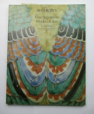 Sotheby's Auction Catalogue - Fine Japanese Works of Art 1985