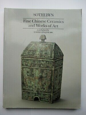 Sotheby's Auction Catalogue - Fine Chinese Ceramics and Works of Art 1990