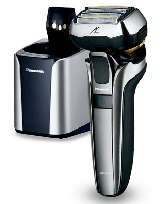 Panasonic ES-LV9Q Men's Electric Wet & Dry Shaver + Cleaning/Charging Station D