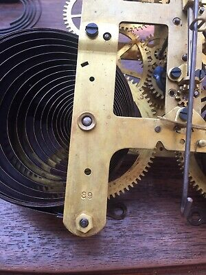 Fine Working Antique Seth Thomas #89 Mantle Clock Movement