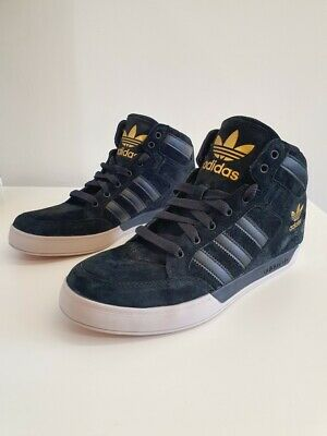 MENS ADIDAS ORIGINALS Hardcourt Hi Top Trainers Shoes