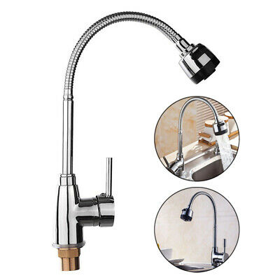 1-Handle Bathroom Kitchen Faucets Hot Cold Mixing Taps Shower Spray Types Metal