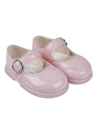 Girls Early Days Uk Pink Patent Bay Pod Shoes Uk Infant 2 3 4 5 6