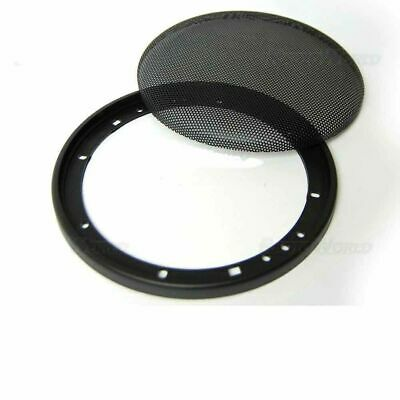 "6.5"" 165mm Speaker Grills/Covers Universal Fitment Pair Car/Caravan/Home Net New"