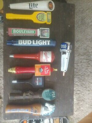 Beer Tap Handle Lot Of 10