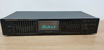 Marantz EQ-551 1986 Vintage 2x10 Bands Graphic Equalizer - Spectrum Analyzer