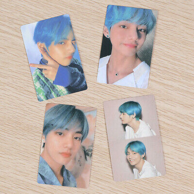 2019 V 4pcs/Set Kpop BTS Map of The Soul: Persona Paper Photo Card Kim Tae Hyung