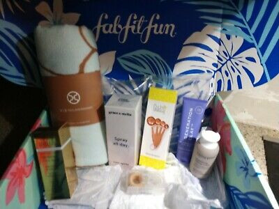 Lot of brand new items from Summer 2019 Fab Fit Fun box $200+ retail