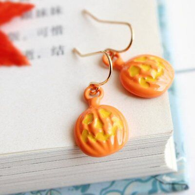 Charm Halloween Pumpkin Drop Dangle Earrings Hook Ear Stud Womens Jewellery Hot