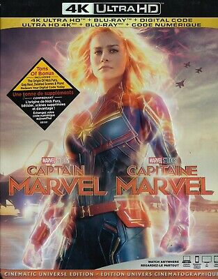 Captain Marvel (4K Ultra Hd/Bluray)(2 Disc Set)(Used)