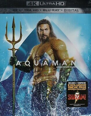 Aquaman (4K Ultra Hd/Bluray)(2 Disc Set)(Used)