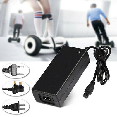 1* Charger+Plug Cable 42V 2A AC/DC Power Adapter For Balancing Scooter+Cord ABS
