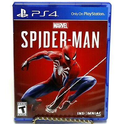 Marvel Spider-Man Sony Playstation 4 PS4 Video Game