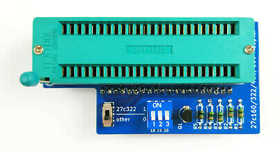 27C322 27C160 27C800 27C400 Adapter for TL866 Minipro EPROM