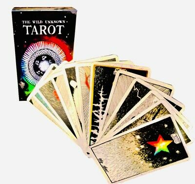78pcs the Wild Unknown Tarot Deck Original Kim Krans Rider Waite Love LightCards