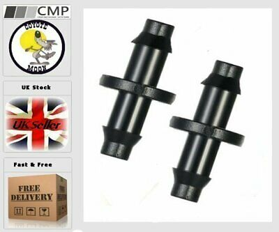 4mm Aquarium Tank Hose Coupling Irrigation air joint connector windscreen x25 UK