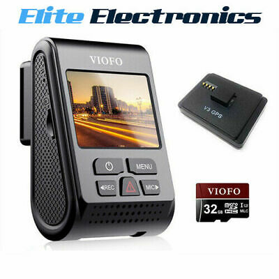 VIOFO A119 V3 32GB Quad HD 2560x1600P 30FPS GPS Dash Camera