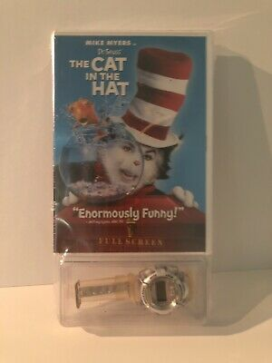 Dr. Seuss The Cat in the Hat (DVD, 2004, Full Screen Edition) New Still Sealed.