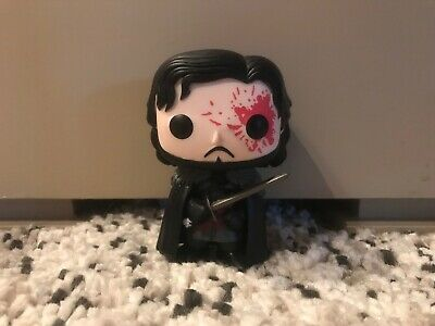 Funko POP! Game Of Thrones BLOODY JON SNOW Hot Topic Exclusive LOOSE Figure