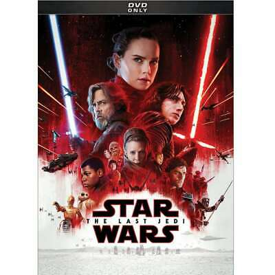 Star Wars: Episode VIII: The Last Jedi DVD, Andy Serkis, Carrie Fisher, Adam Dri