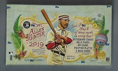 2019 Topps Allen and Ginter Baseball Factory Sealed Hobby Box