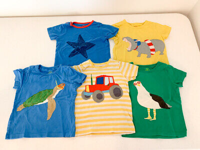 Lot of 5 Baby Boden Short Sleeve Tees 18-24 Months