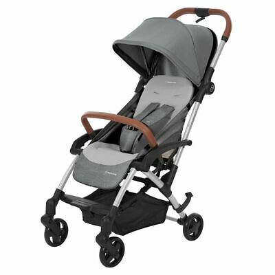 New 3-in-1 Maxi Cosi Laika Compact (Nomad Grey) Stroller, 3 Shipping Options