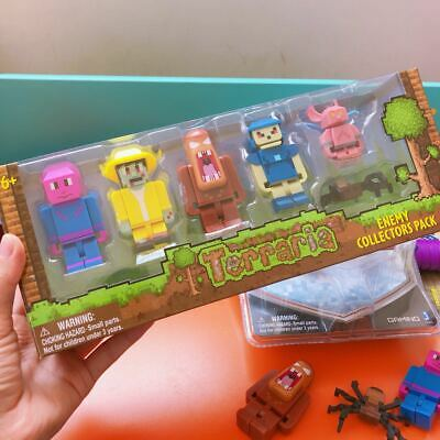 Terraria World Enemy Collector's 6 Pack action Figure Toys