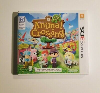Animal Crossing: New Leaf (2012) - Nintendo 3DS - Tested - Authentic