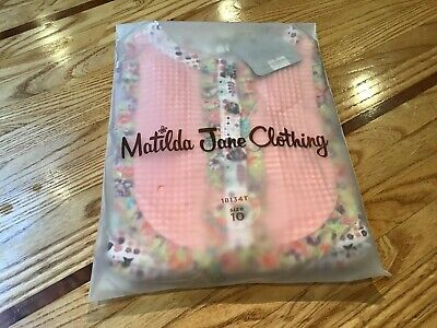 Cornelia Libby Top ~ Matilda Jane Friends Forever ~ Girl's Tween Size 10 Cute!