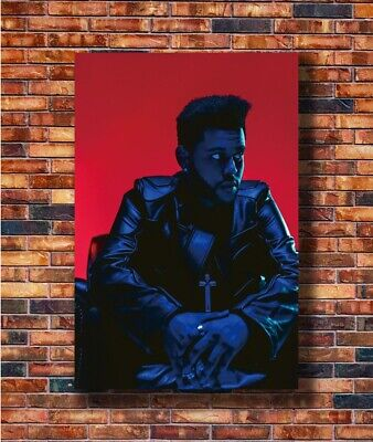 The Weeknd Starboy Creative Singer New Hot Art Print Silk 8x12inch Poster X-3059