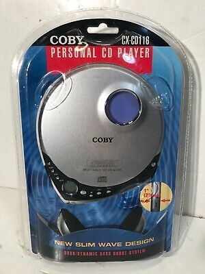 Rare Vintage New Sealed Coby Personal CD Player CX-CD116