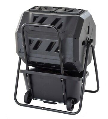 160lt Roto Composter w/COMPOSTING Cart