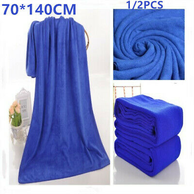 1/2PCS Extra Large Quick Drying Bath Towel for Any Travel Swimming Gym Sports UK
