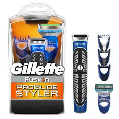 Gillette Shaving Fusion Proglide 3in1 Styler Shave Trimm Edge Waterproof Shaver