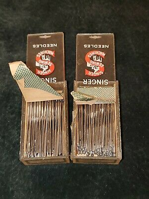 Singer Sewing Machine Needles Size 18  System 135x17