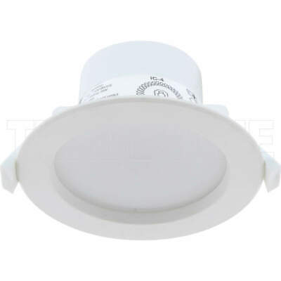 Brilliant 9 Watt 90mm Cut Out Dimmable SMART LED Downlight With Switchable Kelvi
