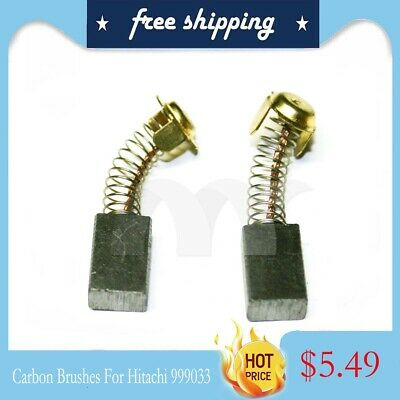 Replacement Motor Carbon Brushes For Hitachi 999033 16 x 11 x 7 mm