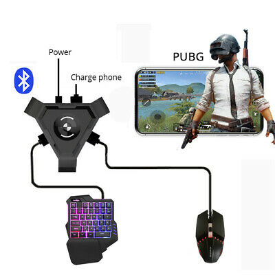 PUBG Mobile Gamepad Controller Gaming Keyboard Mouse Converter for Android Phone