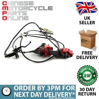 Brake System Complete for Lexmoto Tekken 125 MH125GY-15 (FBSCP014)