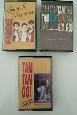 Lote  3  Tam Tam Go   Cassette       Lot  Collection