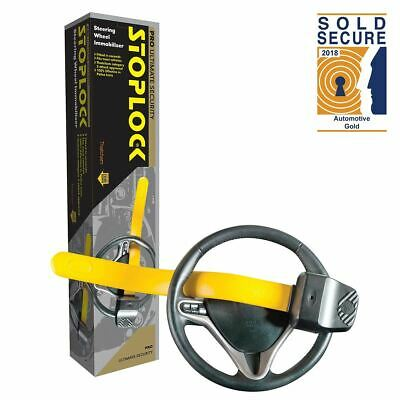 Stoplock Pro Steering Wheel Lock Professional Clamp Ideal For Fiat Cinquecento