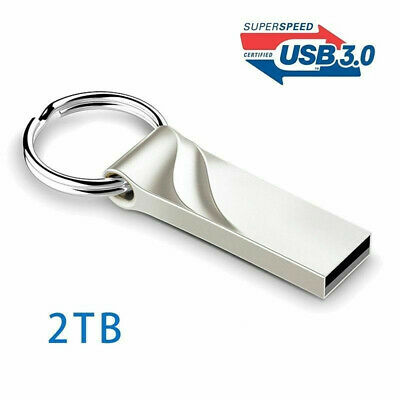 USB 3.0 Flash Drive 2TB High-Speed Data Storage Thumb Stick Store Movies Picture